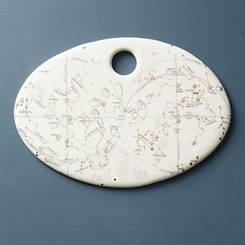 Astrology Chart Cheese Board