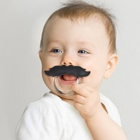 CHILL BABY 'Stache Teether