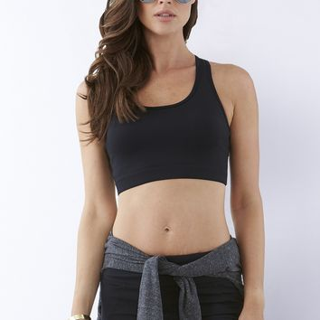 Essential Studio Sports Bra - Navy Blue