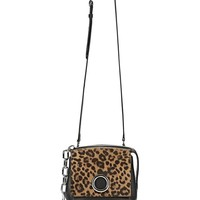ATTICA FLAP MARION IN PRINTED LEOPARD WITH RHODIUM | Shoulder Bag | Alexander Wang Official Site