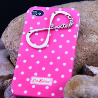 Cath Kidston White Spot ,infinity one direction iphone 454Case ,Cover 5