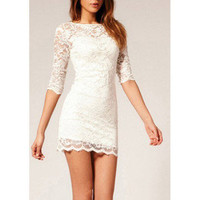 Hi,Showme — Lace Bodycon Dress