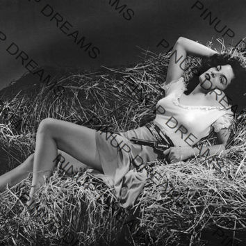 "Vintage Photograph of Jane Russell 8"" x 10"" re-print (Get Any 4 For 3)"