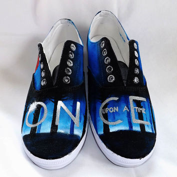 Once Upon A Time Shoes by SatansSlippers on Etsy