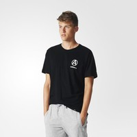 adidas Circle Logo Tee - Black | adidas US