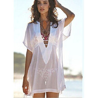 Summer Chiffon Lacey Cover Up