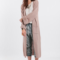 Aftershock Oversized Maxi Cardigan