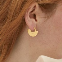A Peace Treaty 'Moora' Hoop Earrings | Nordstrom