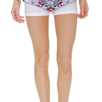 adidas by Stella McCartney Printed Run Shorts