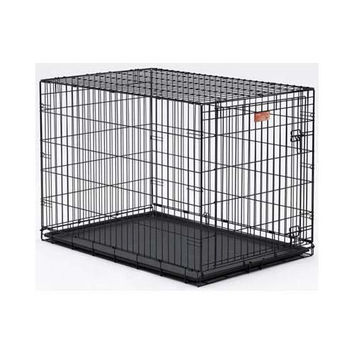"Midwest Dog Single Door i-Crate Black 24"" x 18"" x 19"""