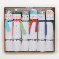 DCI Chronicle Snowman Crackers, White