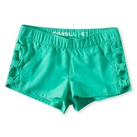 Girl's O'Neill 'Missy' Bow Detail Board Shorts,