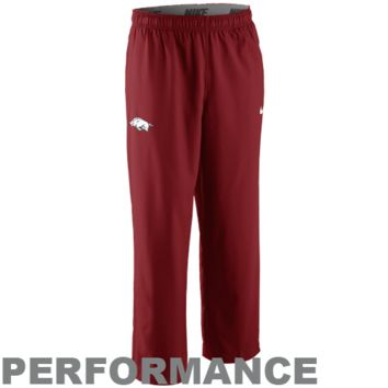 Nike Arkansas Razorbacks Victory Woven Performance Pants - Cardinal
