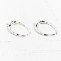 Large Hook Earrings in Silver - Urban Outfitters