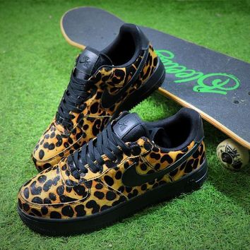 Nike Wmns Air Force 1 '07 LX Animal Prints Pack Leopard Sneaker AF1 898889-001 Shoes - Sale