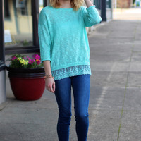 Spring Feelin' Sweater {Sky Blue}