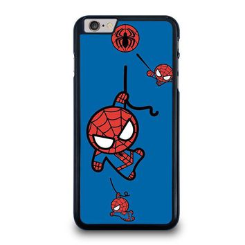spiderman kawaii marvel avengers iphone 6 6s plus case cover  number 1