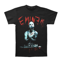 Eminem Men's  Bloody Horror T-shirt Black Rockabilia