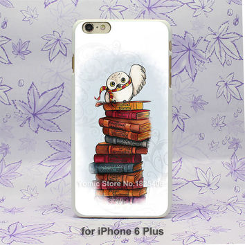 Harry Potter Owl Hedwig Book Pattern case for iPhone