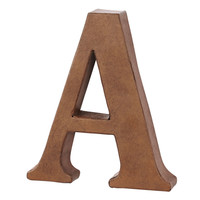 Make Market™ Rust Metal Letter, 6.75""