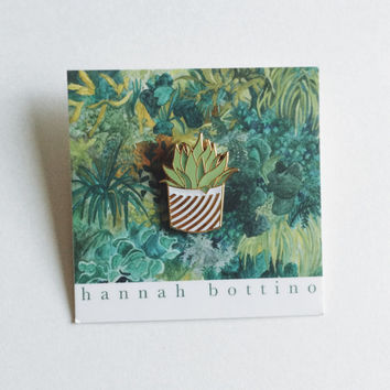 Urban Greenery Enamel Pin