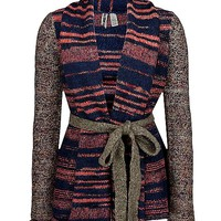 BKE Space Dyed Cardigan Sweater