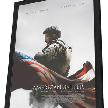 American Sniper 27x40 Framed Movie Poster (2015)