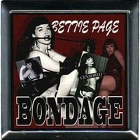 C&D Visionary Bettie Page Bondage Compact Mirror Housewares Lounge at Broken Cherry