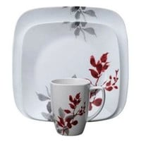 Kyoto Leaves 16-Pc Dinnerware Set