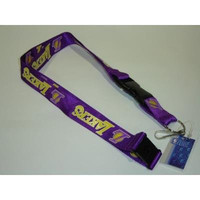 NBA Los Angeles Lakers Puple Breakaway Lanyard