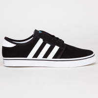 Adidas Seeley Mens Shoes Black/Running White/Pool  In Sizes