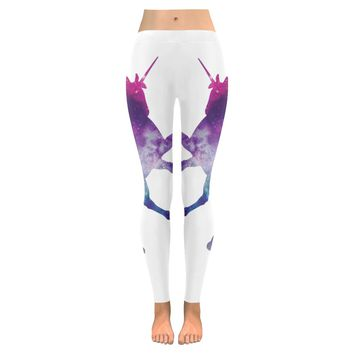unicorn Low Rise Leggings (Invisible Stitch) (Model L05)