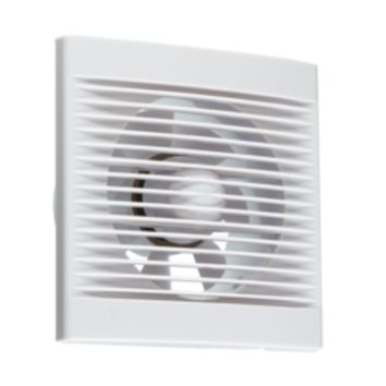 "KB EX002T 150MM/6"" EXTRACTOR FAN WITH OVERRUN TIMER - WHITE"
