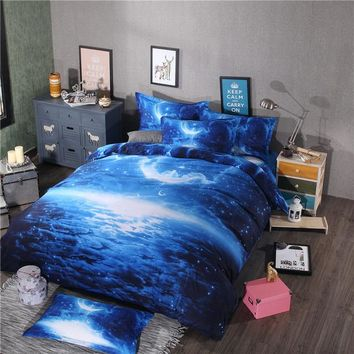 Galaxy Duvet Cover Bedding Set