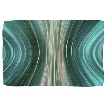 Glacier Green Driving Dreams Kitchen Towel
