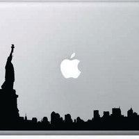 New York City Skyline NYC Laptop Decal Sticker Wall Vinyl Art Design