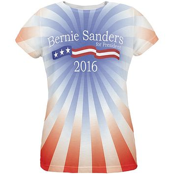 Bernie Sanders 2020 President All Over Womens T-Shirt