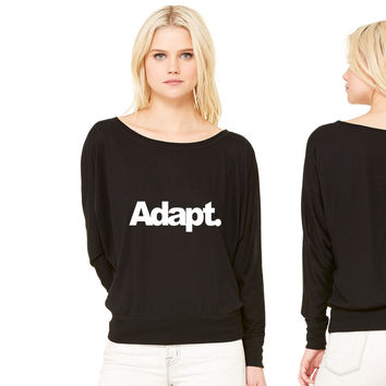 ADAPT 3 women's long sleeve tee