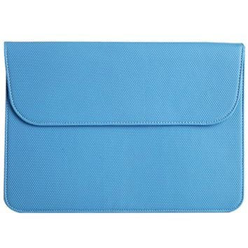PU Laptop Sleeve Bag Protective Leather Notebook Case Portable Blue Color Computer Cover for 15 inches For Macbook Air Pro Retina