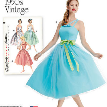 Vintage Prom Dress Patterns