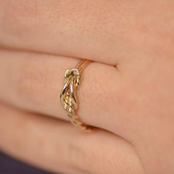 infinity knot ring. wedding sale infinity knot ring w/giftbox - reef jewelry