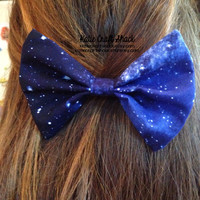 Galaxy, Milky Way, tardis, nebula, starry night bows - available in various prints