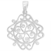 Southern Gates Sterling Silver Small Cooper Pendant