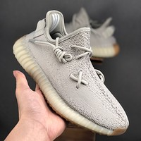 "adidas Yeezy 350 Boost V2 ""Sesame"" Running Shoes Women Sports Sneaker - Best Deal Online"