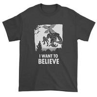 Demogorgon I Want To Believe Mens T-shirt