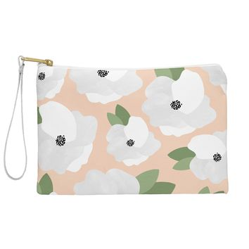 Allyson Johnson Romantic Floral Pouch