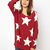 Hilfiger Denim | Hilfiger Denim Large Star Jumper at ASOS