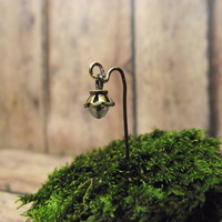 2 Miniature Lanterns Glow in the Dark Fairy Garden Terrarium Accessories