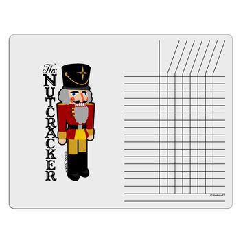 The Nutcracker with Text Chore List Grid Dry Erase Board by TooLoud