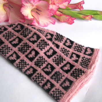 Warm girl wool mittens, handmade with love in Latvia. Hand knitted wool mittens, latvian mittens, knitted patterned mittens,arm warmer,